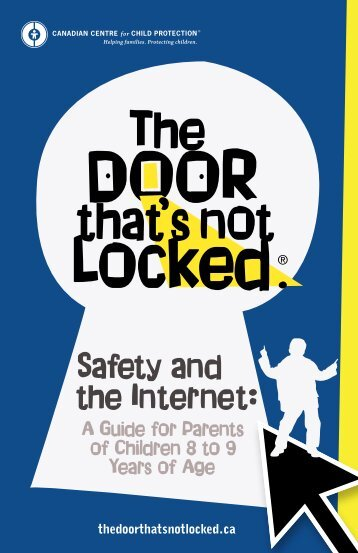 Safety & the Internet 8-9 Years - The Door That's Not Locked