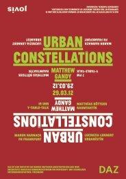 URBAN CONSTELLATIONS URBAN ... - Jovis Verlag