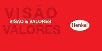 VISÃO & VALORES - Henkel
