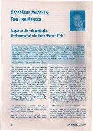 a'D.YRisun - Tierkommunikation mit Helen Gerber Sirin