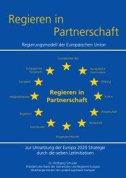 Regieren in Partnerschaft - Rat der Gemeinden und Regionen ...