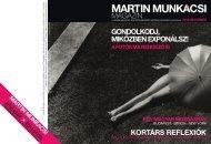 Martin Munkácsi Magazin - Ludwig Múzeum