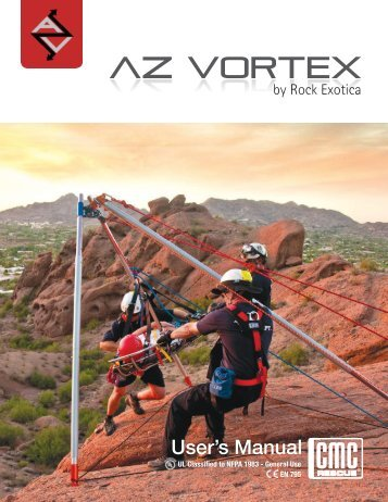 Arizona Vortex User's Manual 2012 English - Rescue Response Gear