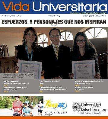 Vida Universitaria No. 84 - Universidad Rafael Landívar