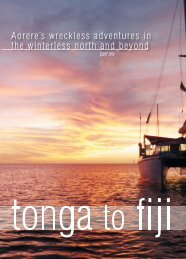 Tonga to Fiji - MULTIHULL WORLD