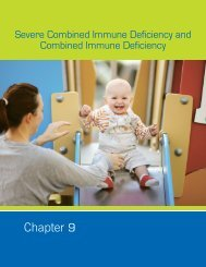 Severe Combined Immune Deficiency and Combined Immune ...