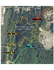 New Mike Miller Park Map and Media Release. - Lincoln County ...