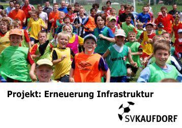 Broschüre: Projekt Erneuerung Infrastruktur
