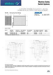 v Machine Safety Switch Systems - BIBUS