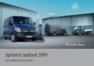 Sprinteri uudised 2009 - Silberauto