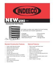 Commercial Unit Heater