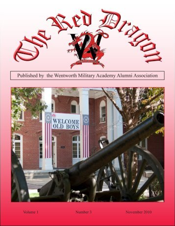 Red Dragon Vol 1 Issue 3 - Wentworth Military Academy & College
