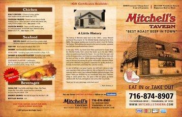 BEST ROAST BEEF IN TOWN - Mitchell's Tavern
