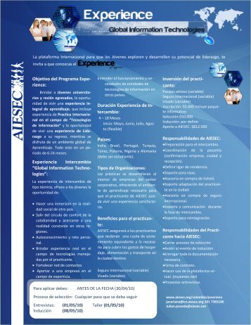 Global information technologies - CERI