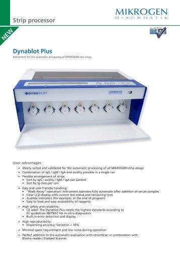 Dynablot Plus Strip processor - Mikrogen