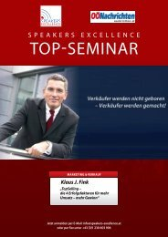 TOp-SeMInar - Speakers Excellence