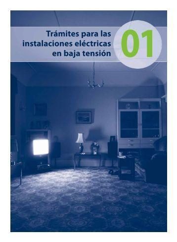 Trámites para las instalaciones eléctricas en baja tensión 01