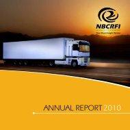 Annual Report 2010 - nbcrfli.org.za