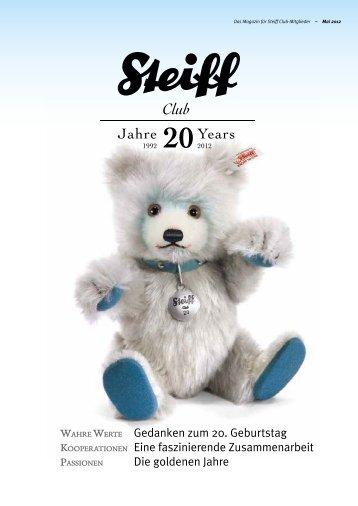 Wahre Werte Gedanken zum 20. Geburtstag Kooperationen ... - Steiff