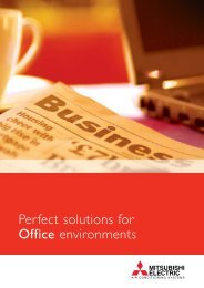 Perfect solutions for Office environments - Mitsubishi Electric