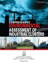 Comprehensive Environmental Assessment of Industrial Clusters