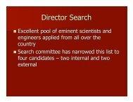 Director Search - Virginia Tech