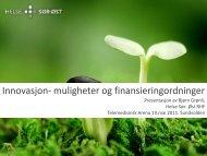 Redesign 2011 - Bjørn Grønli - Nasjonalt senter for telemedisin