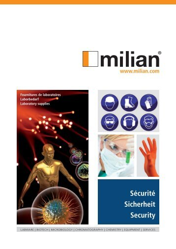Catalogue Sécurite - Sicherheit - Security - Milian SA