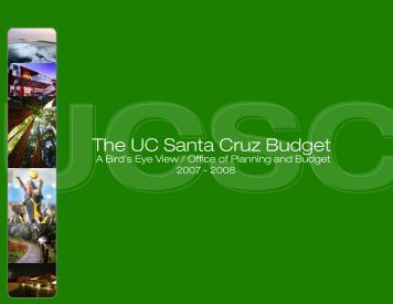 2007-08 Edition - Office of Planning and Budget - University of ...