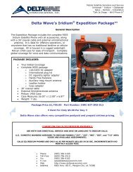 9555 Expedition Package - Delta Wave Communications Inc.
