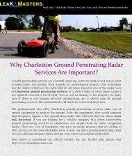 Charleston Ground Penetrating Services