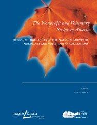 The Nonprofit and Voluntary Sector in Alberta - Imagine Canada