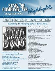 Join Us: Benefit Concert and Raffle - Good Samaritan Society