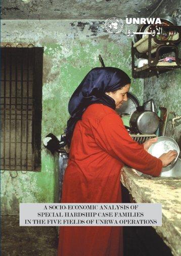 A Socio-Economic Analysis of Special Hardship Case ... - Unrwa