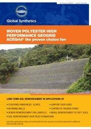 ACEGrid® Datasheet - Global Synthetics