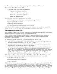 Does Roman 6:26 teach that Jesus Christ is ... - Gospel Lessons