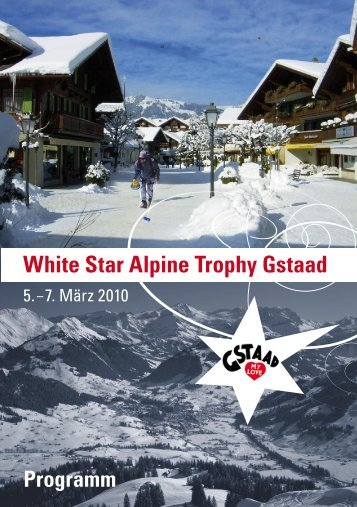 White Star Alpine Trophy Gstaad - Curling Club White Star Basel