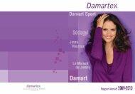 Rapport annuel 2009-2010 - Damartex