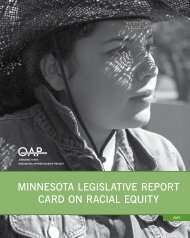 2007 Legislative Report Card on Racial Equity - Organizing ...