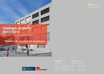 Catalogue de poche 2013/14 - Swisslux AG