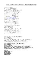 Rozpis jazdeckých pretekov všestrannosť – Memoriál Heraldika Šaľa