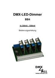 DMX-LED-Dimmer - DMX4ALL GmbH