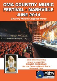 CMA Music Festival 2014 - Elite Special Event Tours