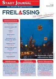 STADT JOURNAL - Stadt Freilassing