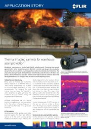 application story - Flir Systems