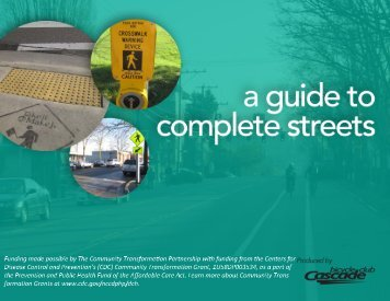 Pierce County Complete Streets Design Guidelines - Health ...