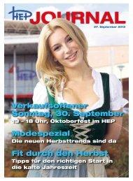 29.09.2012 spartage rabatt! - Hallescher Einkaufspark Halle/Bruckdorf