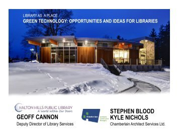 green technology: opportunities and ideas for libraries - Accessola2