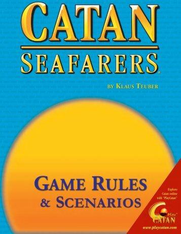 Seafarers Rules - Mayfair Games
