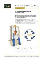 APV glarmestre v3.indd - BAR Bygge & Anlæg